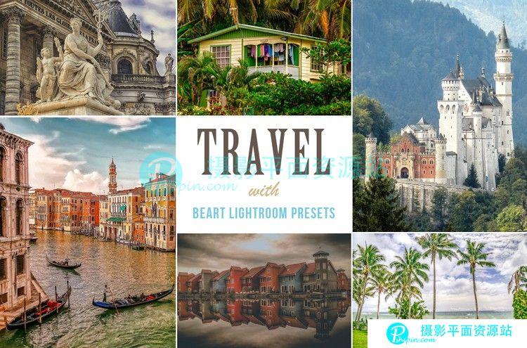 景观与旅游风景Lightroom预设 Landscape Travel LR Presets