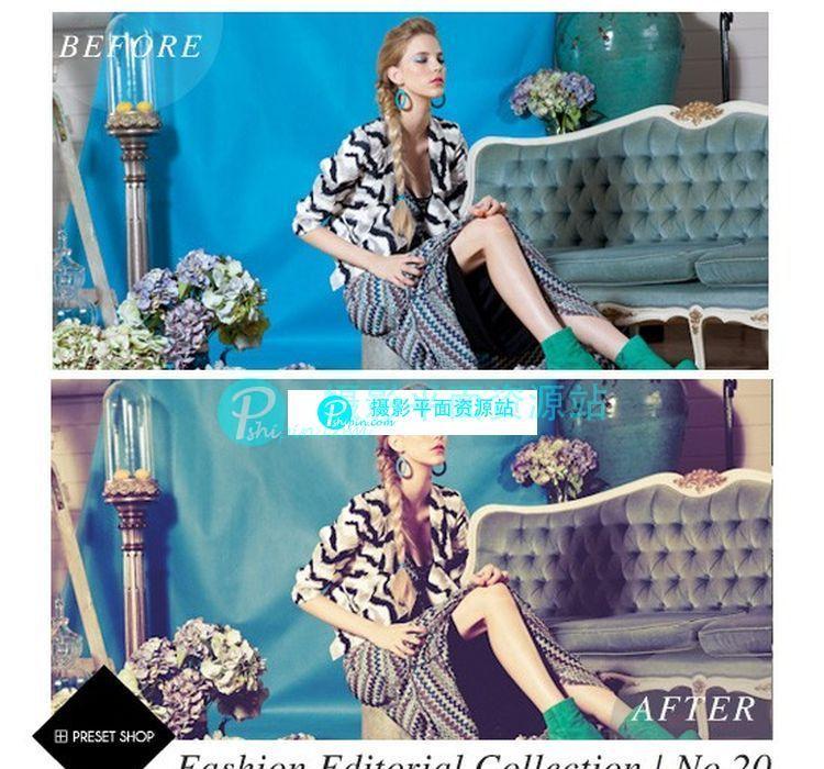 时尚编辑Lightroom预设集合 Fashion Editorial Presets Collection