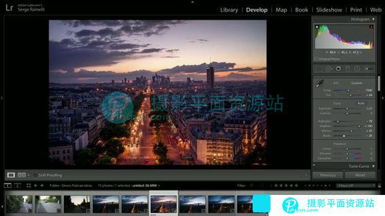 Serge Ramelli Lightroom风光摄影处理教程