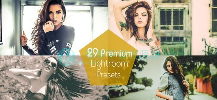 时尚工作流 Lightroom 预设