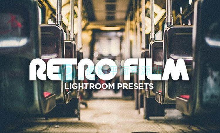 复古电影Lightroom预设 Retro Film Lightroom Presets