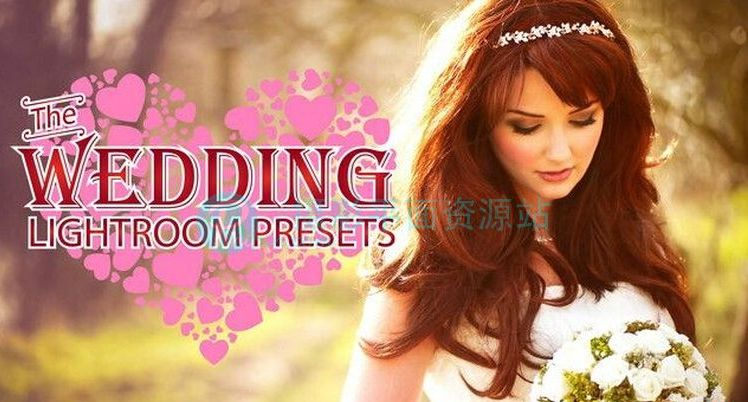 30组高端商业婚礼跟拍 Lightroom后期预设