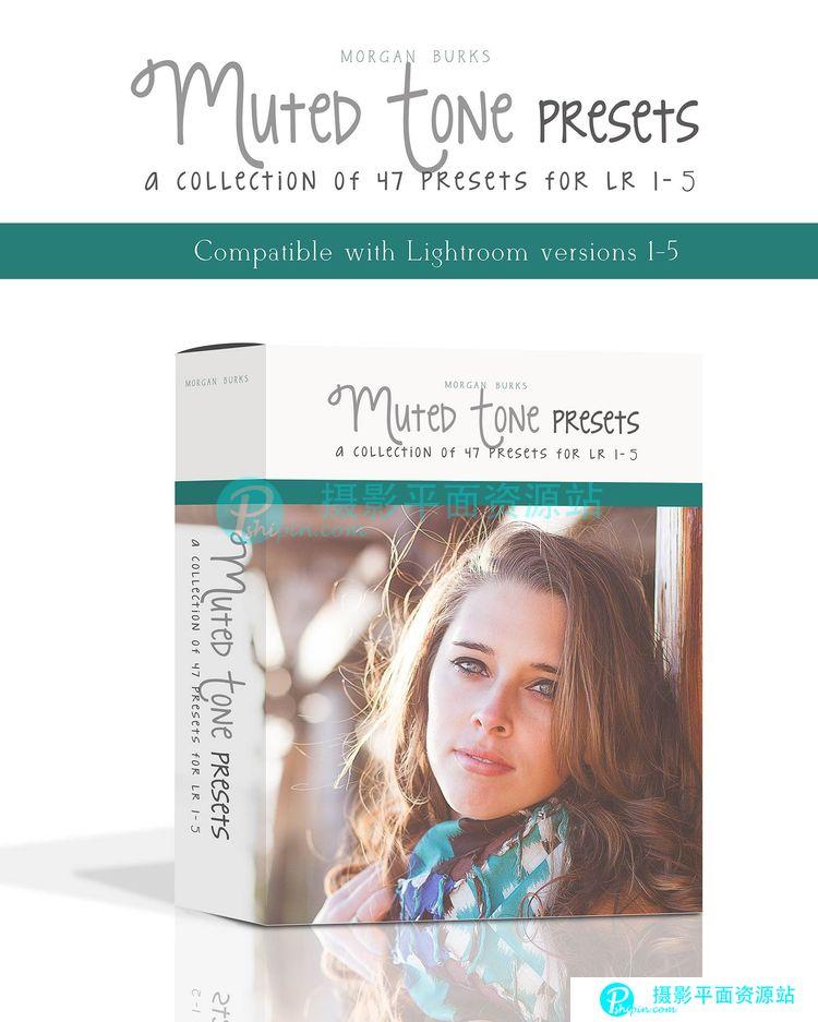 Morgan Burks Muted Tone Lightroom Presets