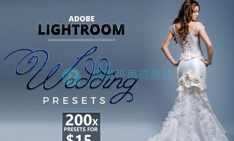 200婚礼婚纱Lightroom预设 200 Lightroom Wedding Presets