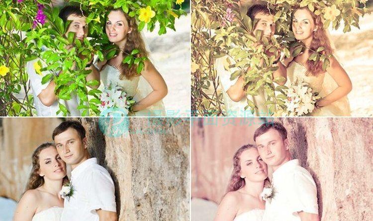20婚纱摄影后期 Lightroom预设
