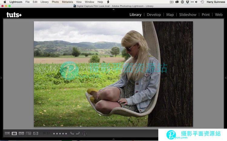Lightroom电影图像色彩制作视频教程