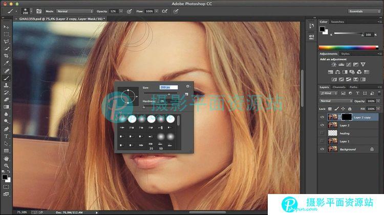 Lightroom和Photoshop颜色分级,修饰和特殊光效教程