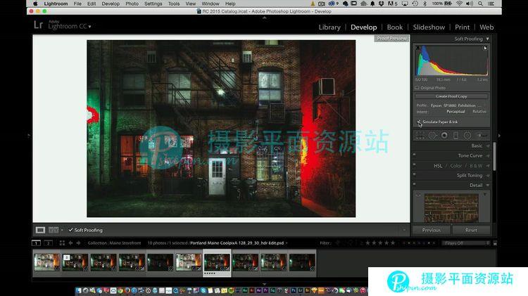 Lightroom CC 校准配色打印完整指南视频教程