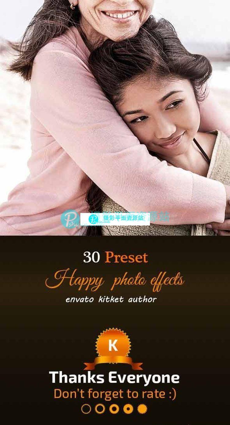 30 HDR 温暖柔和Lightroom预设