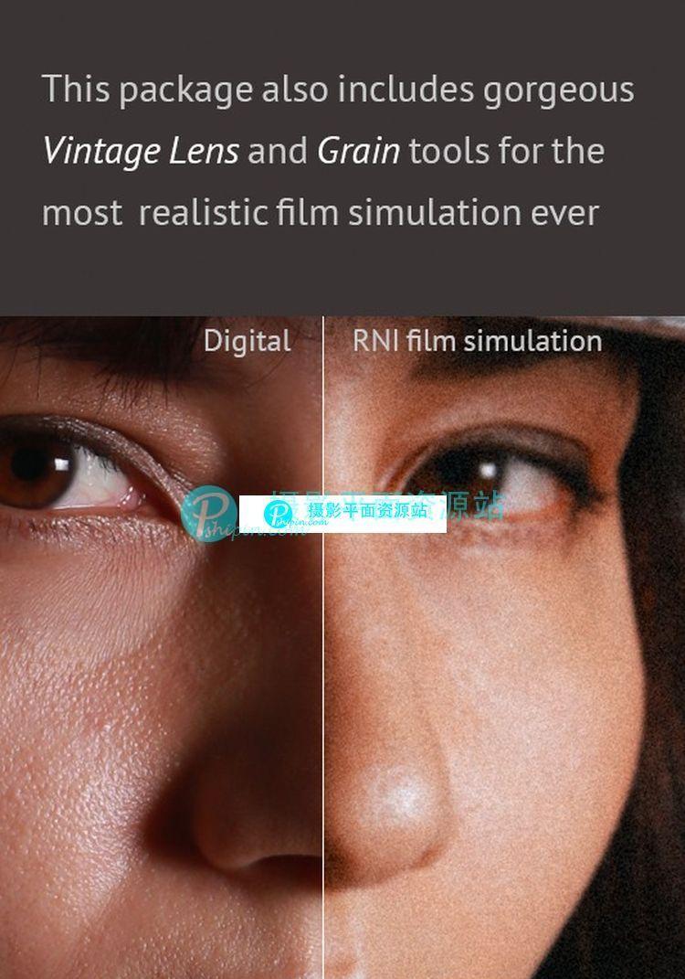 价值49美元国外拍立得风格和富士胶片效果 RNI FILMS 3.0