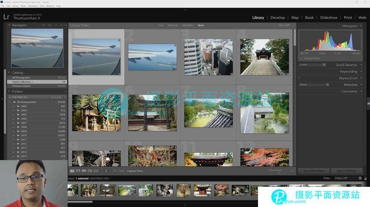 Lightroom cc 视频教程   英文视频教程  8G mp4