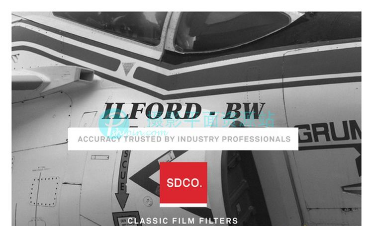 ILFORD 依尔福黑白电影胶片LR Lightroom预设