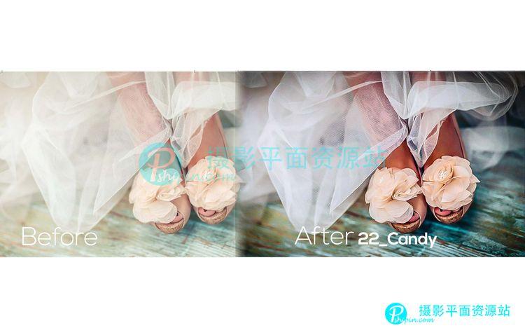 230个Lightroom婚礼时尚大片调色预设合集